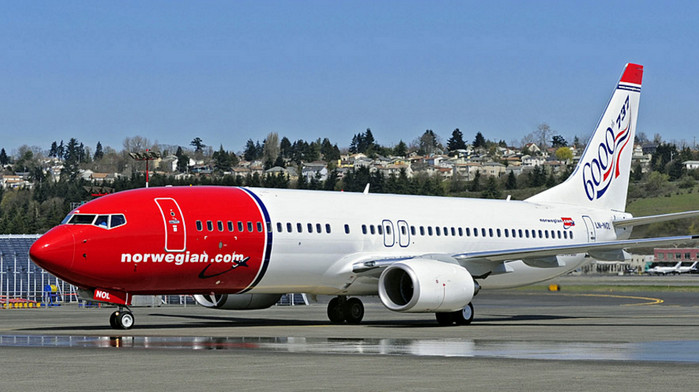 Norwegian Air Shuttle предлагает перелет в США за $68
