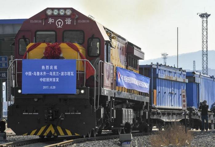 Новый железнодорожный маршрут объединит Китай с Украиной