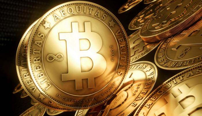 Общая стоимость Bitcoins в обращении составила $14 млрд