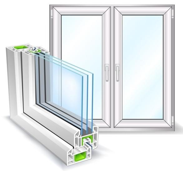 Особенности конструкции металлопластиковых окон