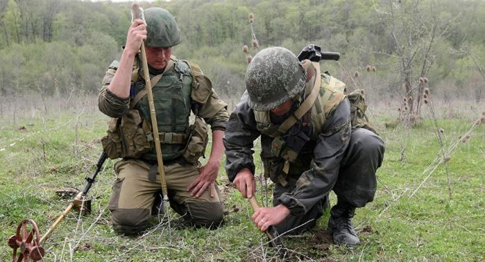 ООН: Донбасс станет одним из самых заминированных регионов в мире