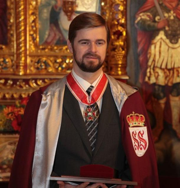 Konstantin Kondakov – заслуженный обладатель церковного ордена
