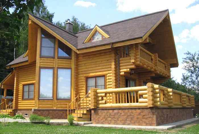 Основные аспекты при заказе и выборе дома из оцилиндрованного бревна
