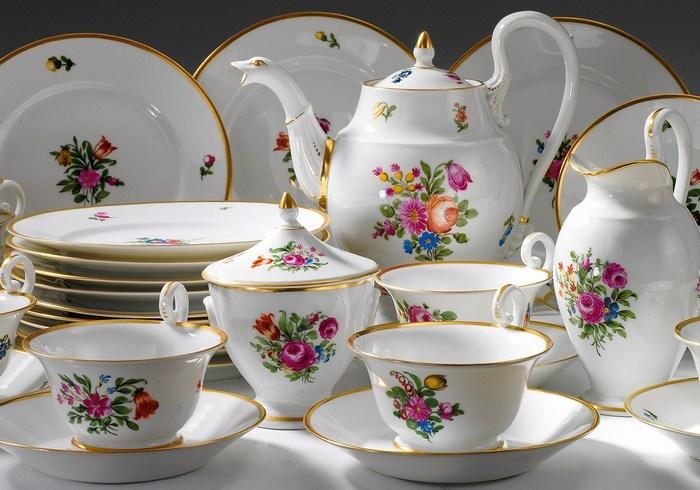 Особенности современной фарфоровой посуды