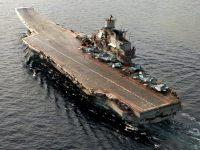 Отправился наремонт единственный российский авианосец