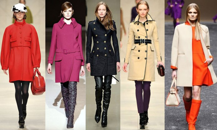 Актуальные модели пальто в текущем году