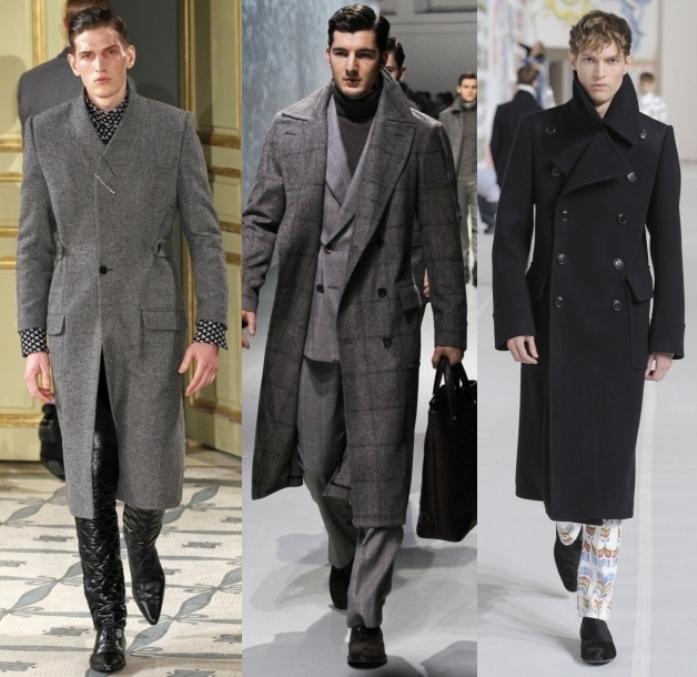 Мужские пальто: что предлагают нам модные подиумы?