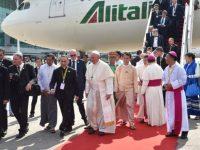Папа Франциск находится с апостольским визитом в Мьянме
