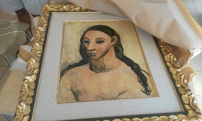 """Во Франции на таможне предотвратили вывоз картины Пикассо """"Голова молодой женщины"""" за 25 млн евро"""