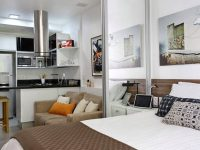 Планировка дизайна квартиры-студии в новостройке