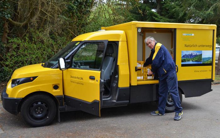 Почтовая компания Deutsche Post производит электромобили для собственных нужд