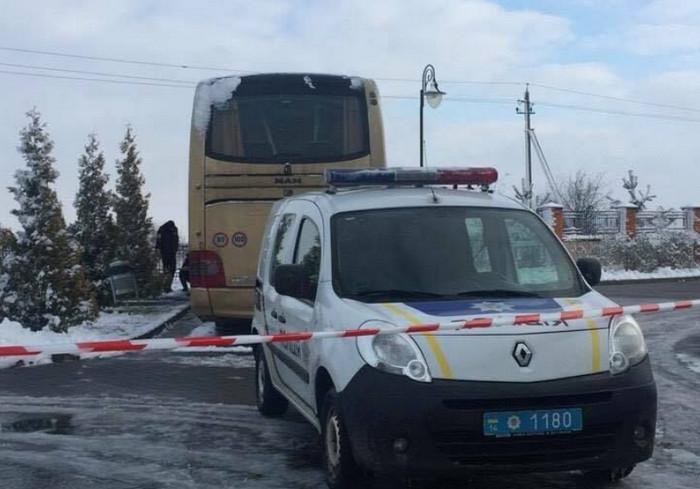 Под Львовом взорвался польский автобус