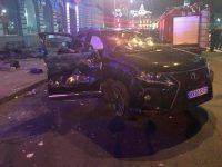 На видео зафиксировали момент ужасного ДТП в центре Харькова:погибли шесть человек, пять — госпитализированы