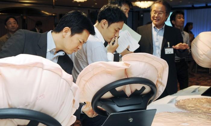 Из-за неисправных подушек безопасности Takata в Японии отзывают 7 млн авто