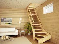 Полезные советы: как осветить лестницу в доме с мансардой