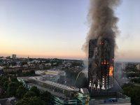 Попытка массового самоубийства в Лондоне из-за пожара в Grenfell Tower