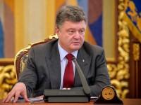 После заявлений Петра Порошенко произошел обвал индексов на биржах США, курс рубля начал падать