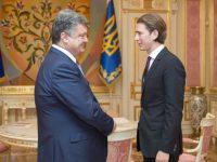 Порошенко поздравил Курца с победой на досрочных парламентских выборах