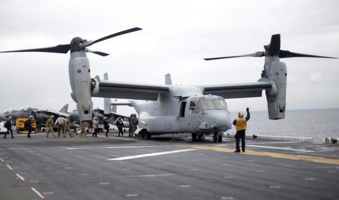 После авиакатастрофы в Австралии пропали без вести три морских пехотинца США
