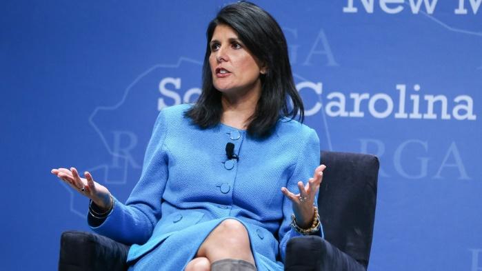 Постпред США в ООН Никки Хейли ответила на решение Тегерана о выходе из ядерной сделки