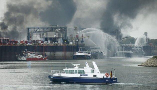 Пожар на немецком химзаводе BASF: 2 погибших, есть раненые и пропавшие без вести