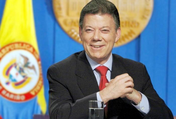 Президент Колумбии Хуан Мануэль Сантос стал лауреатом Нобелевской премии мира