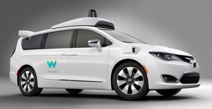 Проект Waymo: Google показал первые фотографии минивена в автопилотом