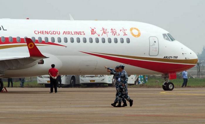 Производители реактивных самолетов Embraer и Bombardier заинтересованы в рынке Китая