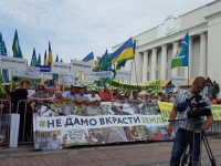 Протестующие аграрии выдвинули Верховной Раде свои требования