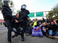 Протестующие Каталонии перекрыли транспортные магистрали