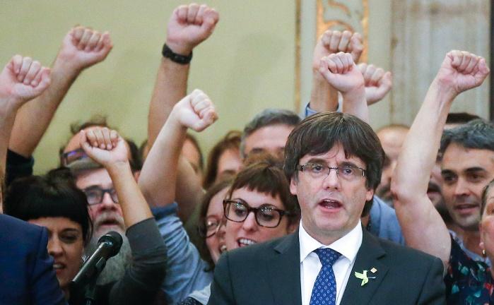 Пучдемон отказывается складывать свои полномочия главы Каталонии