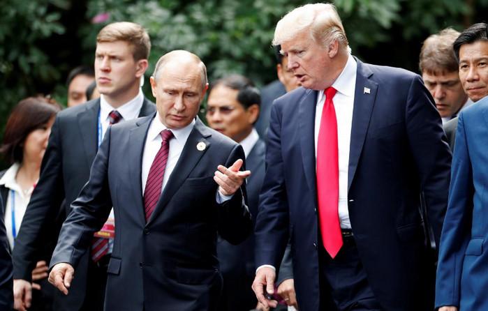 Путин и Трамп договорились о политическом решении конфликта в Сирии