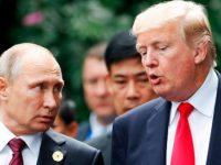 Путин поблагодарил Трампа за информацию о теракте в Санкт-Петербурге