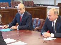 Путин подал документы в Центризбирком