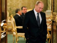 Путин расхаживал по Минску в туфлях с высокими каблуками