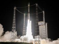 Ракета Vega с украинским двигателем успешно вывела в космос три спутника