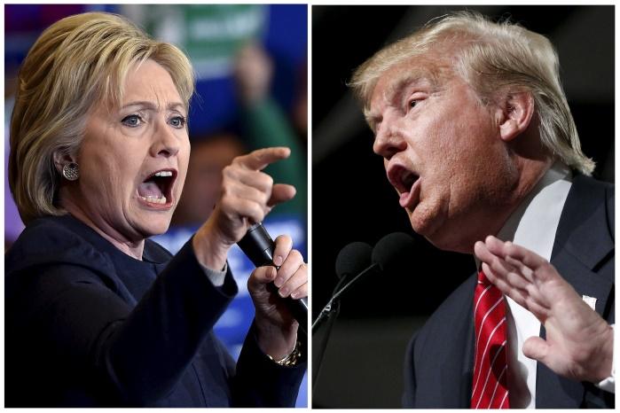 Расходы Трампа и Клинтон на предвыборную гонку