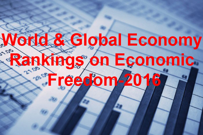 Глобальный мировой рейтинг экономической свободы-2016: Украина на почетном 162 месте