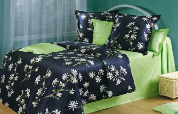 Разновидности постельного белья из сатина