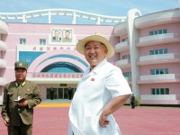 North Korean leader Kim Jong Un provides field guidance to the Wonsan Baby Home and Orphanage in the run-up to a ceremony for their completion, in this undated photo released by North Korea's Korean Central News Agency (KCNA) June 2, 2015. REUTERS/KCNA