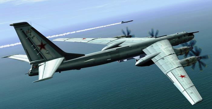 Российские бомбардировщики пролетели вблизи Южной Кореи