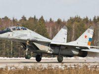 Россия начала поставлять в Сербию истребители Миг-29