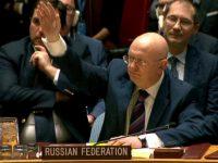 Россия наложила вето на резолюцию ООН по химическому оружию в Сирии