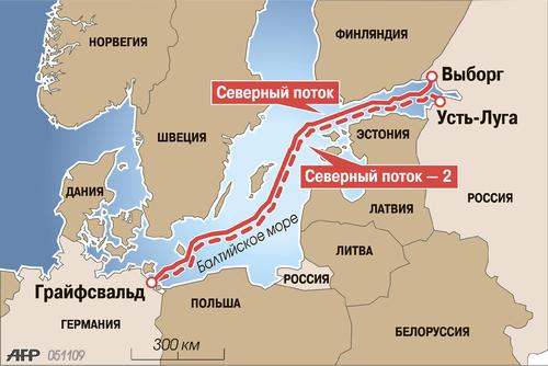 """Россияне начали сварку секций трубы для несуществующего """"Северного потока-2"""""""