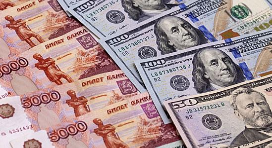 6 августа на Московской бирже доллар перевалил за 64 рубля, евро идет к 70 рублям