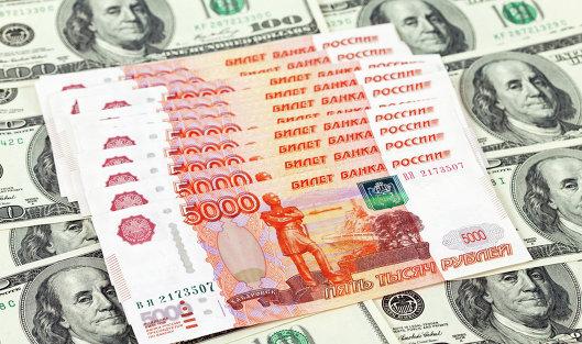11 марта на Московской бирже рубль падает