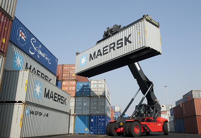 """С трассы """"Киев-Одесса"""" уйдут 12 тыс фур благодаря контейнерному маршруту MAERSK"""