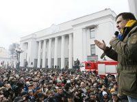 Саакашвили отказывается признавать Луценко генпрокурором и собирает вече