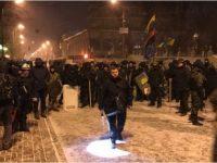 Саакашвили сообщил о нападении на лагерь возле Рады и своем отказе идти к следователю