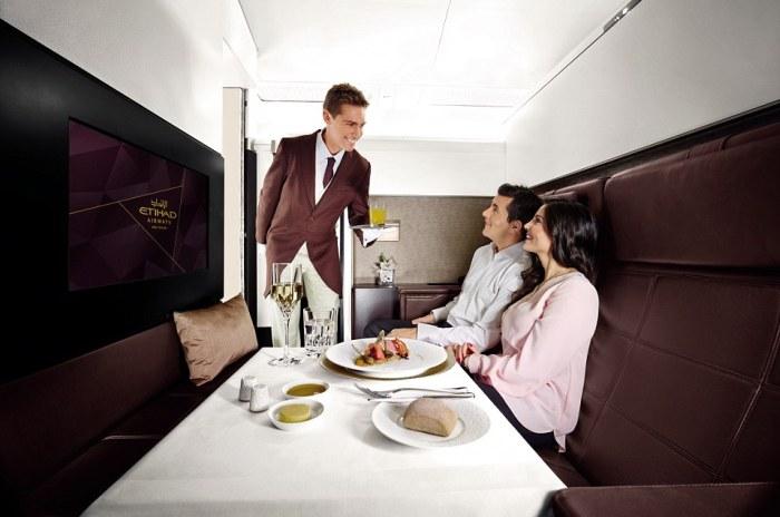 Новый рекорд: авиакомпания Etihad Airways продает билеты по 55 тысяч фунтов (фото, видео)